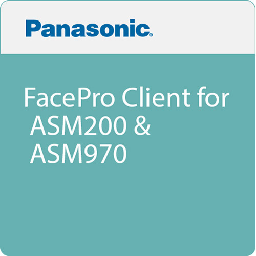 Panasonic FacePro Client for ASM200 & ASM970