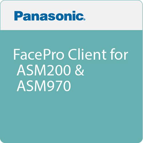 Panasonic FacePro Client for ASM200 & ASM970