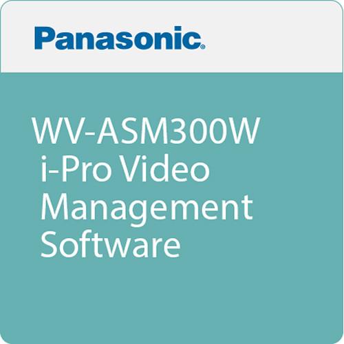 Panasonic WV-ASM300W i-Pro Video Management Software