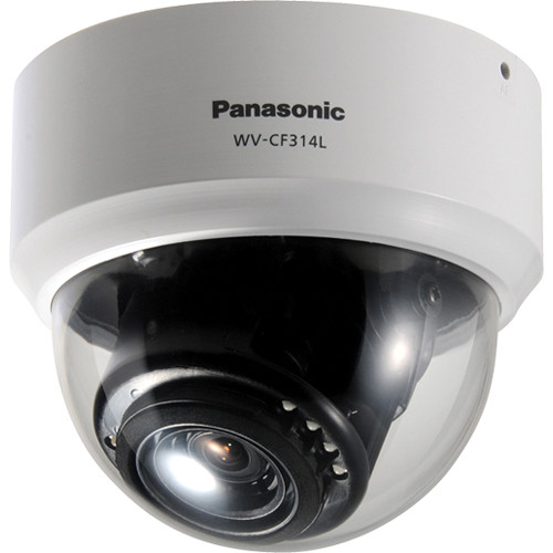 Panasonic 650TVL Day/Night IR Indoor Dome Camera with 2.8 to 10mm Varifocal Lens