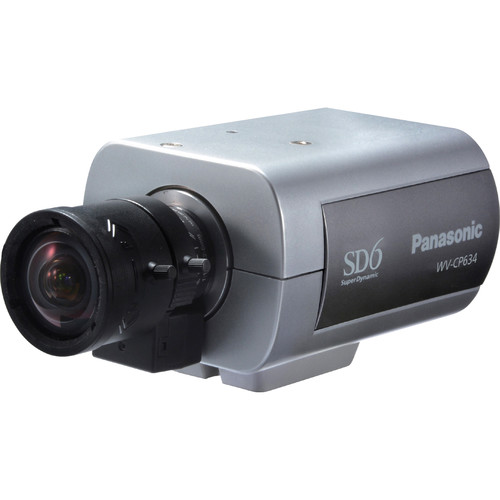 Panasonic WV-CP634 Super Dynamic 6 700 TVL Box Camera (No Lens)