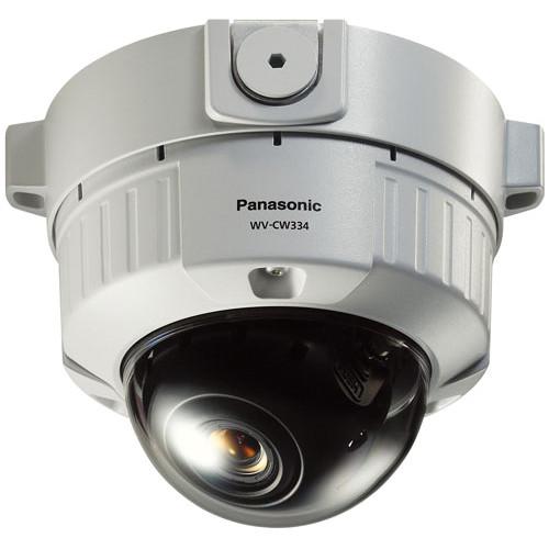 Panasonic WV-CW334S Vandal Resistant Fixed Dome Analog Camera (NTSC)