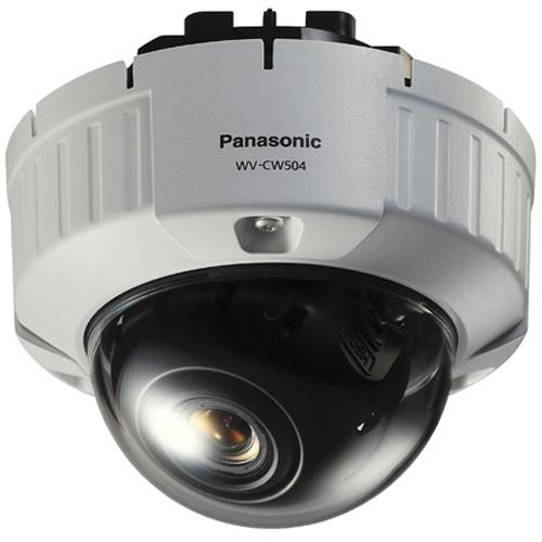 Panasonic WV-CW504F SD 5 Vandal-Resistant Fixed Dome Camera (Flush Mount)