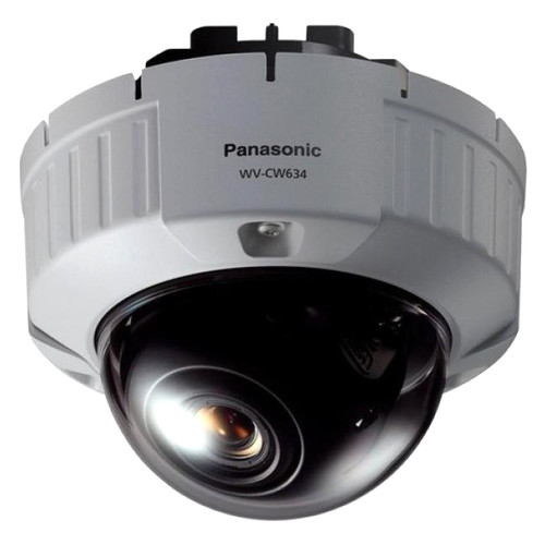 Panasonic Super Dynamic 6 Outdoor Dome Camera with 2.2-6mm Varifocal Lens (Flush Mount)