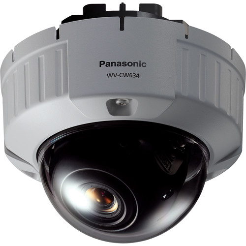 Panasonic Super Dynamic 6 Outdoor Dome Camera with 3.8-8mm Varifocal Lens (Flush Mount)