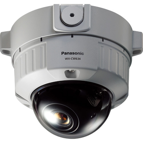 Panasonic Super Dynamic 6 Outdoor Dome Camera with 3.8-8mm Varifocal Lens (Surface Mount)