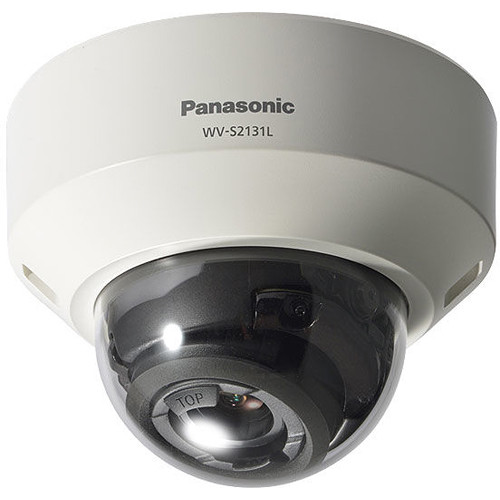 Panasonic WV-S2131L 1080p Network Dome Camera with Night Vision