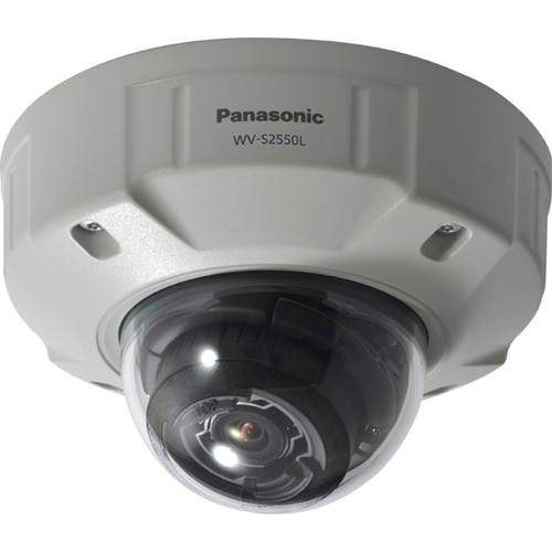 Panasonic iPro Extreme WV-S2550L 5MP Outdoor Network Dome Camera with Night Vision
