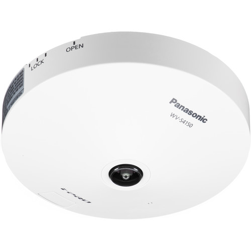 Panasonic iPro Extreme WV-S4150 5MP Network Dome Camera with Fisheye Lens
