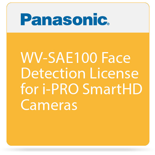 Panasonic WV-SAE100 Face Detection License for i-PRO SmartHD Cameras
