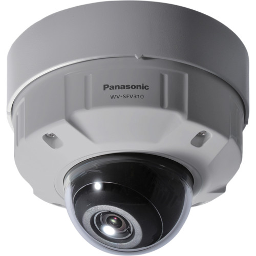 Panasonic WV-SFV310 Super Dynamic H.264 HD Vandal-Resistant & Waterproof Dome Network Camera (NTSC)