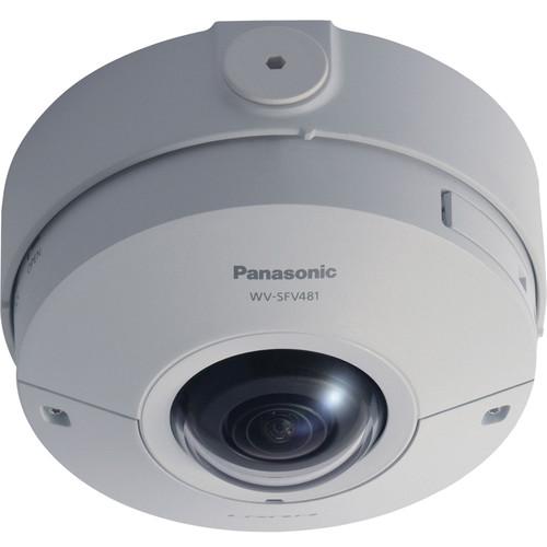 Panasonic i-PRO ULTRA 12MP 360° Outdoor Network Dome Camera, 1.38mm Fisheye Lens