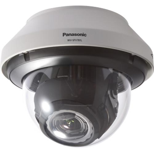 Panasonic WV-SFV781L 4K H.264 Vandal-Resistant IR Dome Network Camera