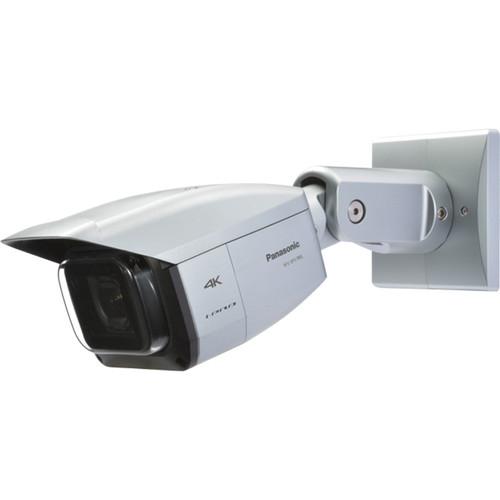 Panasonic 4K Vandal Resistant Weatherproof Network Camera (Light Gray)