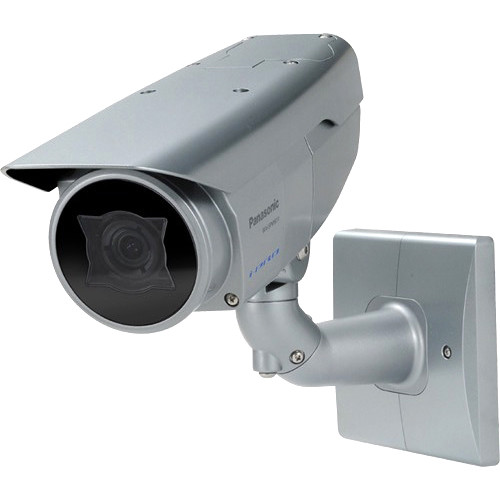 Panasonic WV-SPW611 i-PRO 6 Series Super Dynamic Outdoor Fixed Color Network Camera with 2.8 to 10mm Lens (Light Gray)