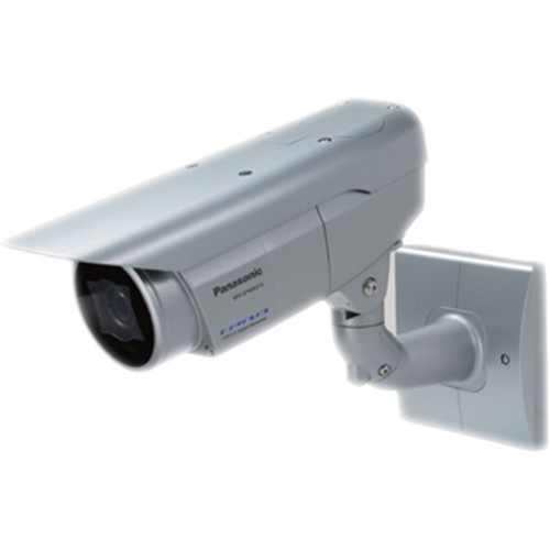 Panasonic 6 Series Super Dynamic WV-SPW631L Full HD Weatherproof IR PoE Network Box Camera with 2.8 to 10mm Lens (Light Gray)