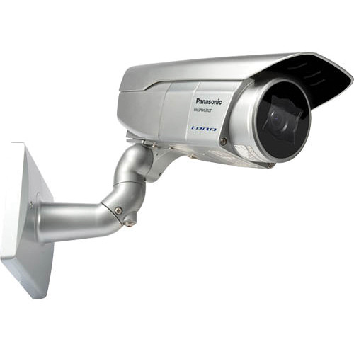 Panasonic 6 Series Super Dynamic WV-SPW631LT Full HD Weatherproof IR PoE Network Box Camera with 9 to 22mm Lens (Light Gray)