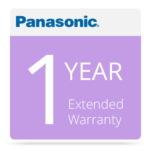 Panasonic WV-SVCSC16EXAP1Y 1-Year Warranty Extension for Select Security Products (APOS)