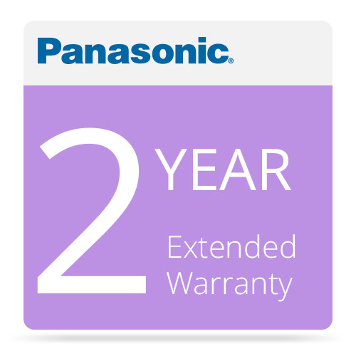 Panasonic WV-SVCSC16EXAP2Y 2-Year Warranty Extension for Select Security Products (APOS)