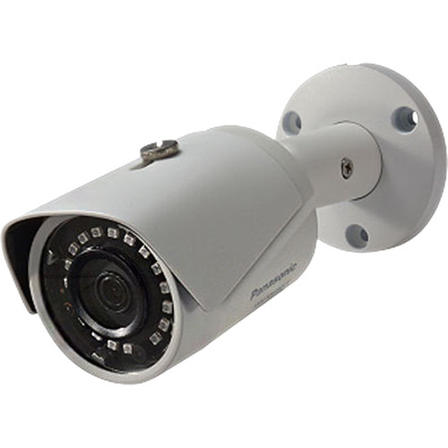 Panasonic 2MP Full HD Weather-Resistant Box Type Network Camera with 3.6mm Fixed Lens