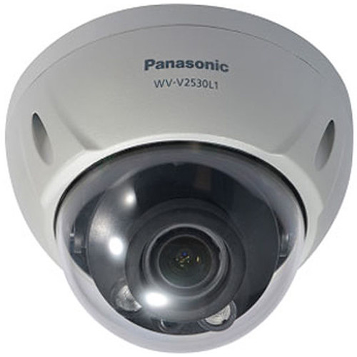 Panasonic 2MP 1080p Weather-Resistant Dome Camera with 2.7 to 12mm Varifocal Lens