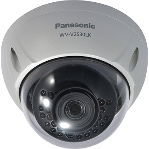 Panasonic WV-V2530LK 2MP Outdoor Network Dome Camera with Night Vision & 3.6mm Lens