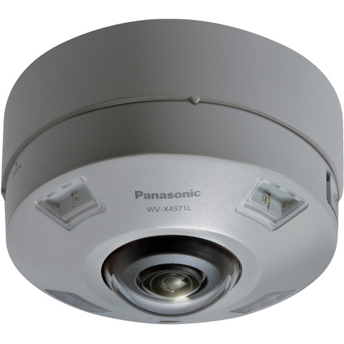 Panasonic WV-X4571LM 9MP Outdoor 360° Network Dome Camera with Night Vision