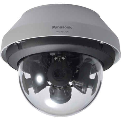 Panasonic iPro Extreme WV-X8570N 33MP Multi-Sensor Outdoor Network Dome Camera