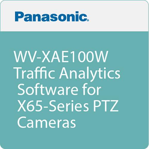 Panasonic WV-XAE100W Traffic Analytics Software for X65-Series PTZ Cameras