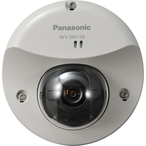 Panasonic WV-SW158 3.1MP Outdoor Network Dome Camera