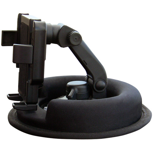 PANAVISE PortaGrip Suction Cup Phone Mount with No-Skid Weighted Car Dash Mount