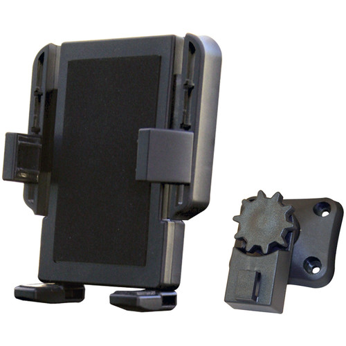 "PANAVISE Portagrip 2.25 - 3.75"" Phone Holder with T-Button Tipper and Adjustment Wheel"