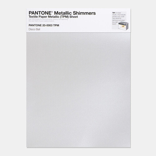 Pantone Metallic Shimmers Large TPM Sheet
