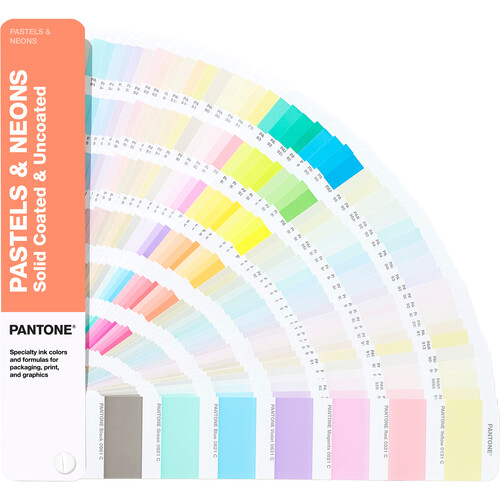 Pantone Pastels & Neons Guide (Coated & Uncoated)