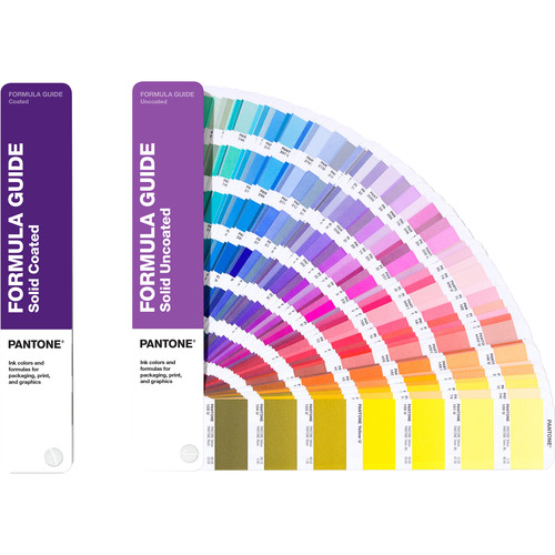 Pantone Coated and Uncoated Formula Guide