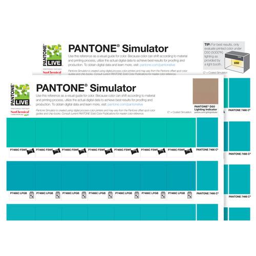 Pantone Simulator Prints