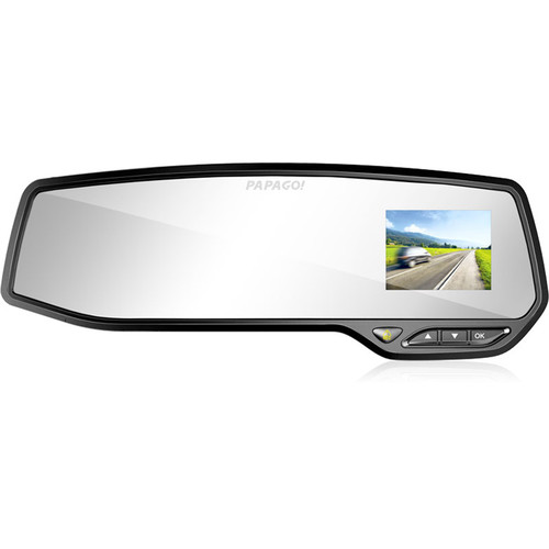 Papago GOSAFE 268 1080p Rearview Mirror Dash Camera