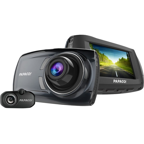 Papago GoSafe S810 2-Channel 1080p Dash Camera with 16GB microSD Card