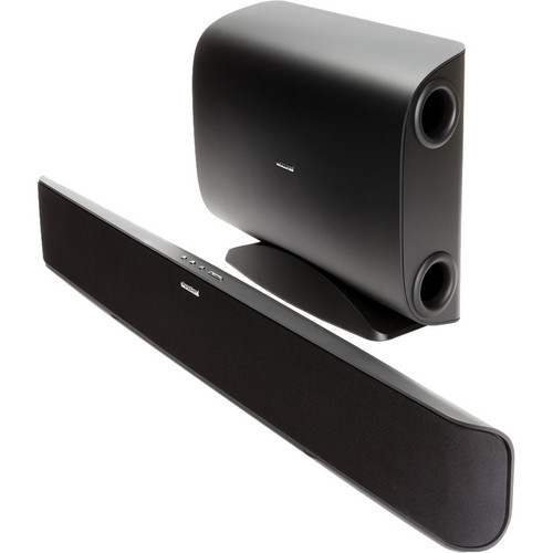Paradigm Soundtrack System Powered Sound Bar with Wireless Subwoofer (Black)