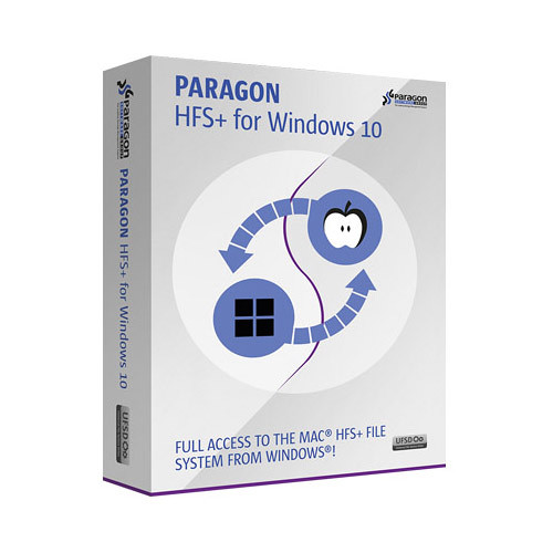 Paragon HFS+ For Windows 10 (Download)