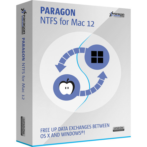 Paragon NTFS for Mac 12 (Download Version)
