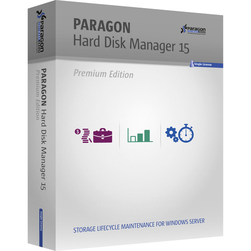 Paragon 1-Year Renewal for Hard Disk Manager 15 Advanced Server Backup