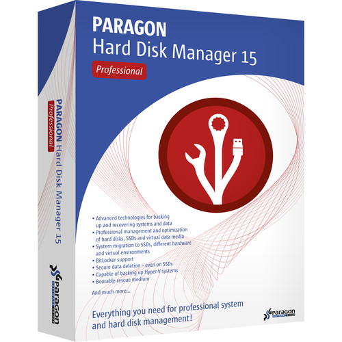 Paragon 1-Year Renewal for Hard Disk Manager 15 Pro