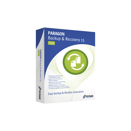 Paragon Backup & Recovery 15.0 Home Software (1-User License, 3-PC, Download)