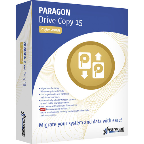 Paragon Drive Copy 15 Professional (Download)