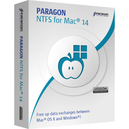 Paragon NTFS for Mac 14 (Download, 3-Pack, Promo)