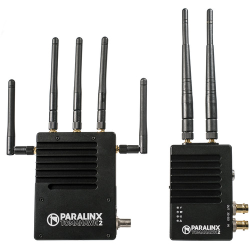 Paralinx Tomahawk2 2000' SDI/HDMI Wireless Video System with 1 x Receiver