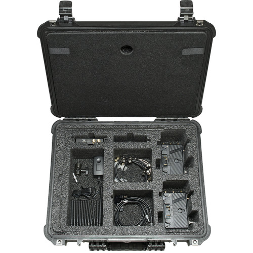Paralinx Tomahawk2 2000 ft SDI/HDMI Wireless Video Deluxe Package with 2 x Receivers (Gold-Mount)