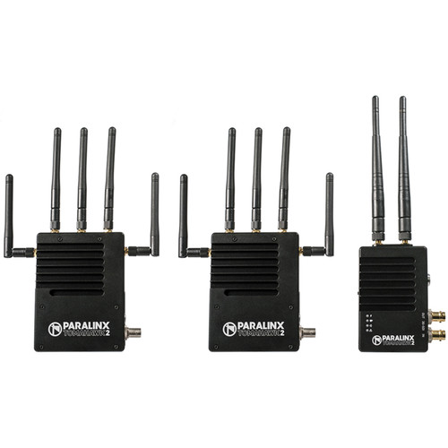 Paralinx Tomahawk2 2000' SDI/HDMI Wireless Video System with 2 x Receivers