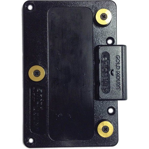 Paralinx Gold-Mount Male Battery Plate for Tomahawk / Arrow-X Receivers